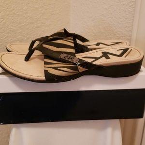 Anne Klein Sport Sandals Tiger print